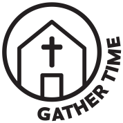 Gather Time Icon - image of church building